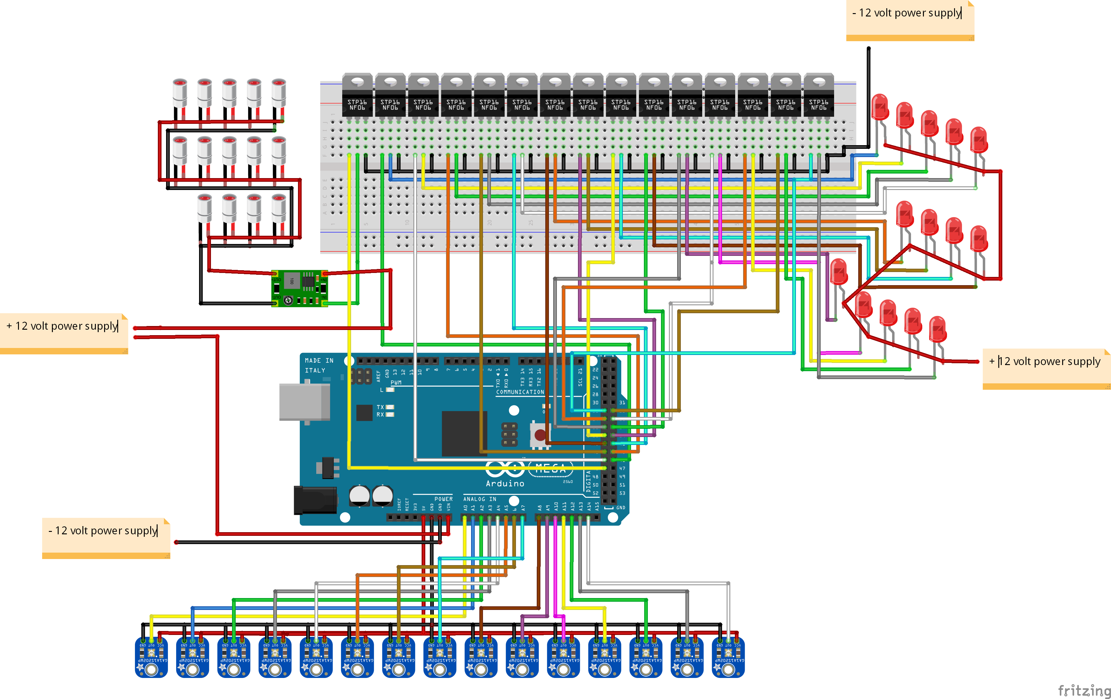 Picture of Wiring Everything Up