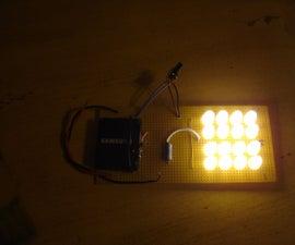 Cell Phone Battery Flashlight