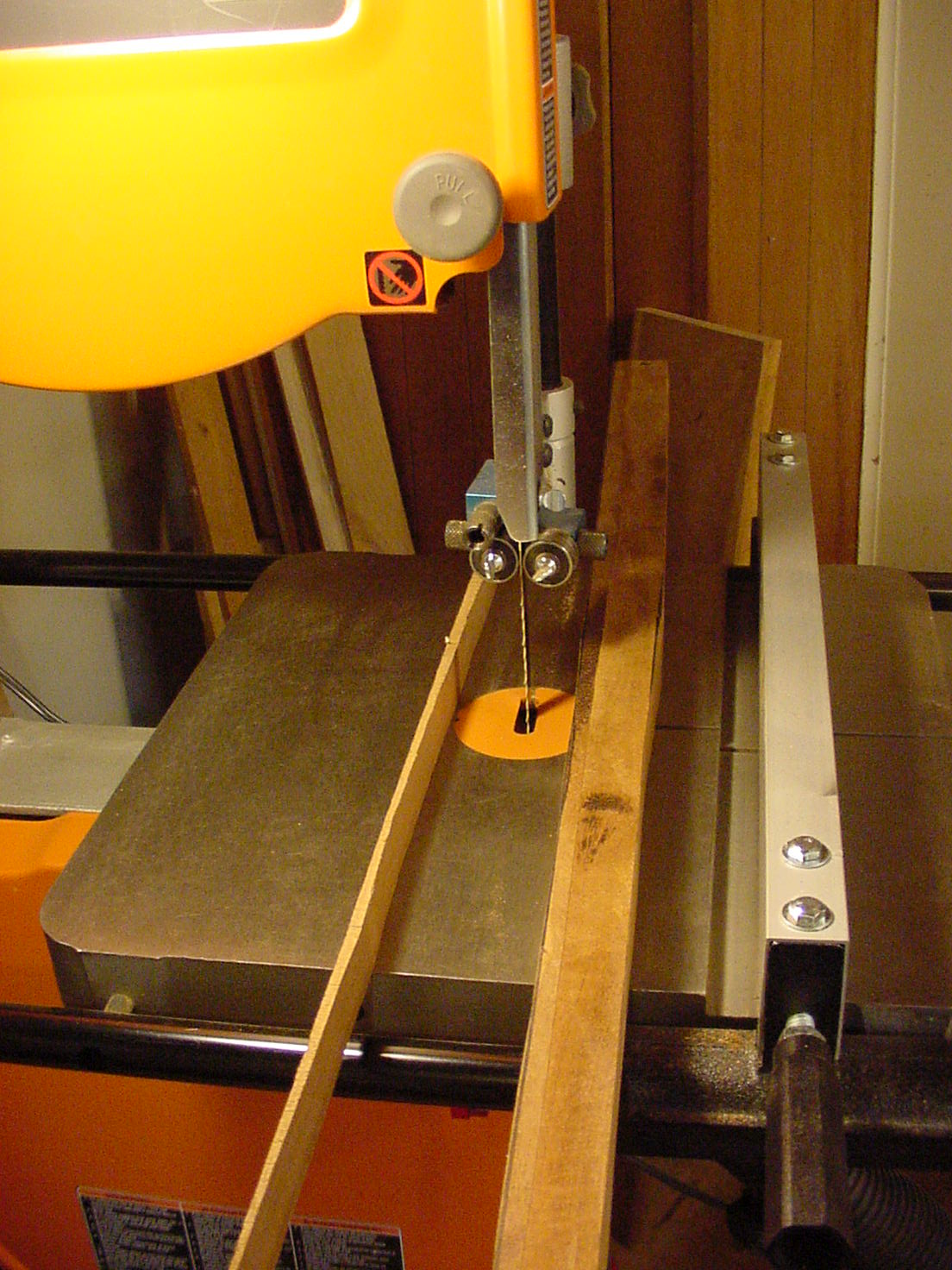 Picture of Remove Excess Wood on Shaft With Hand Tools.