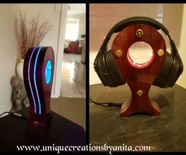 LED Headphone Stand