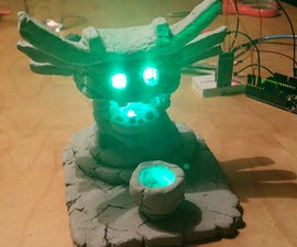 Ori and the Blind Forest: Shrouded Lantern with RBG LEDs and bluetooth control