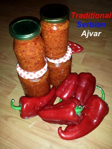 Traditional Serbian Ajvar