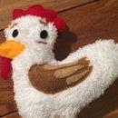 Huevo the Chicken Stuffie: How to Make a Custom Stuffed Animal