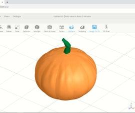 SelfCAD 3D Pumpkin Tutorial