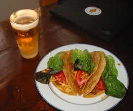 Crispy Ground Beef Tacos Recipe