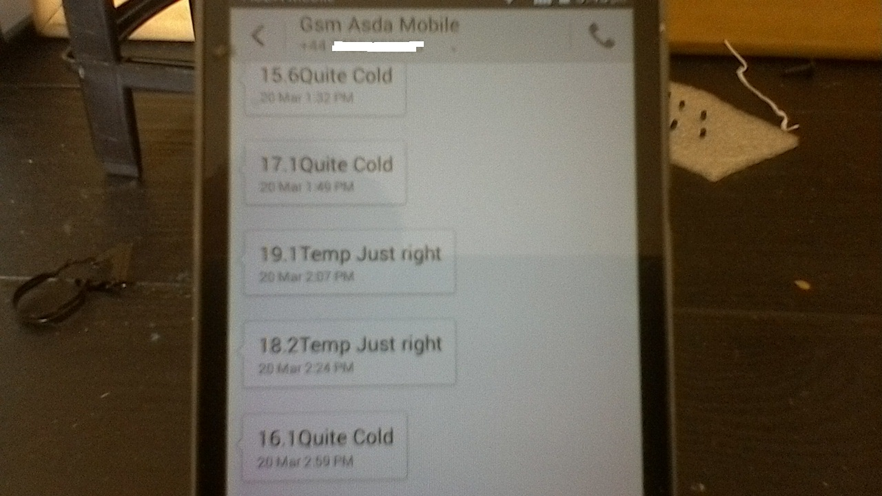 Picture of  SMS Text Temp Alerts From an ATTINY85 and A1 GSM