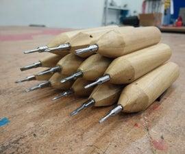 Wooden Precision Screwdriver Set