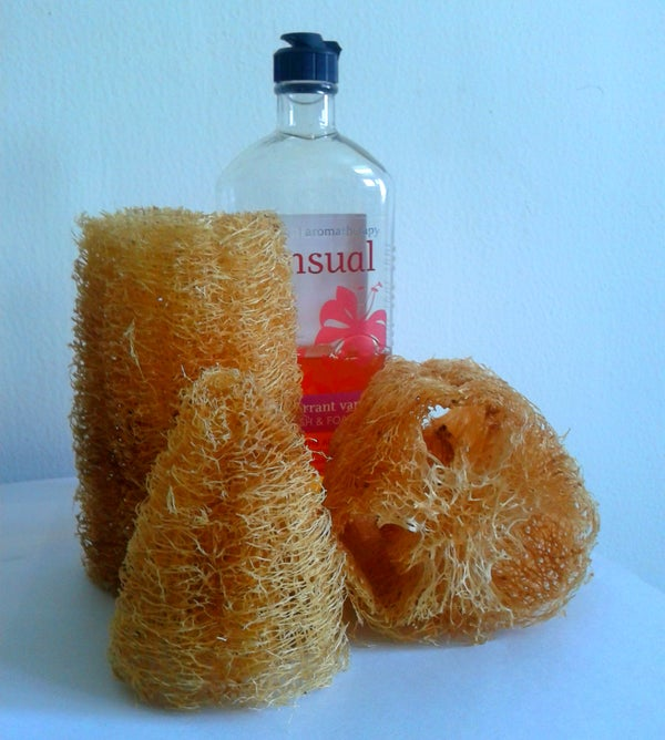 Handmade 100% Natural Shower Loofah