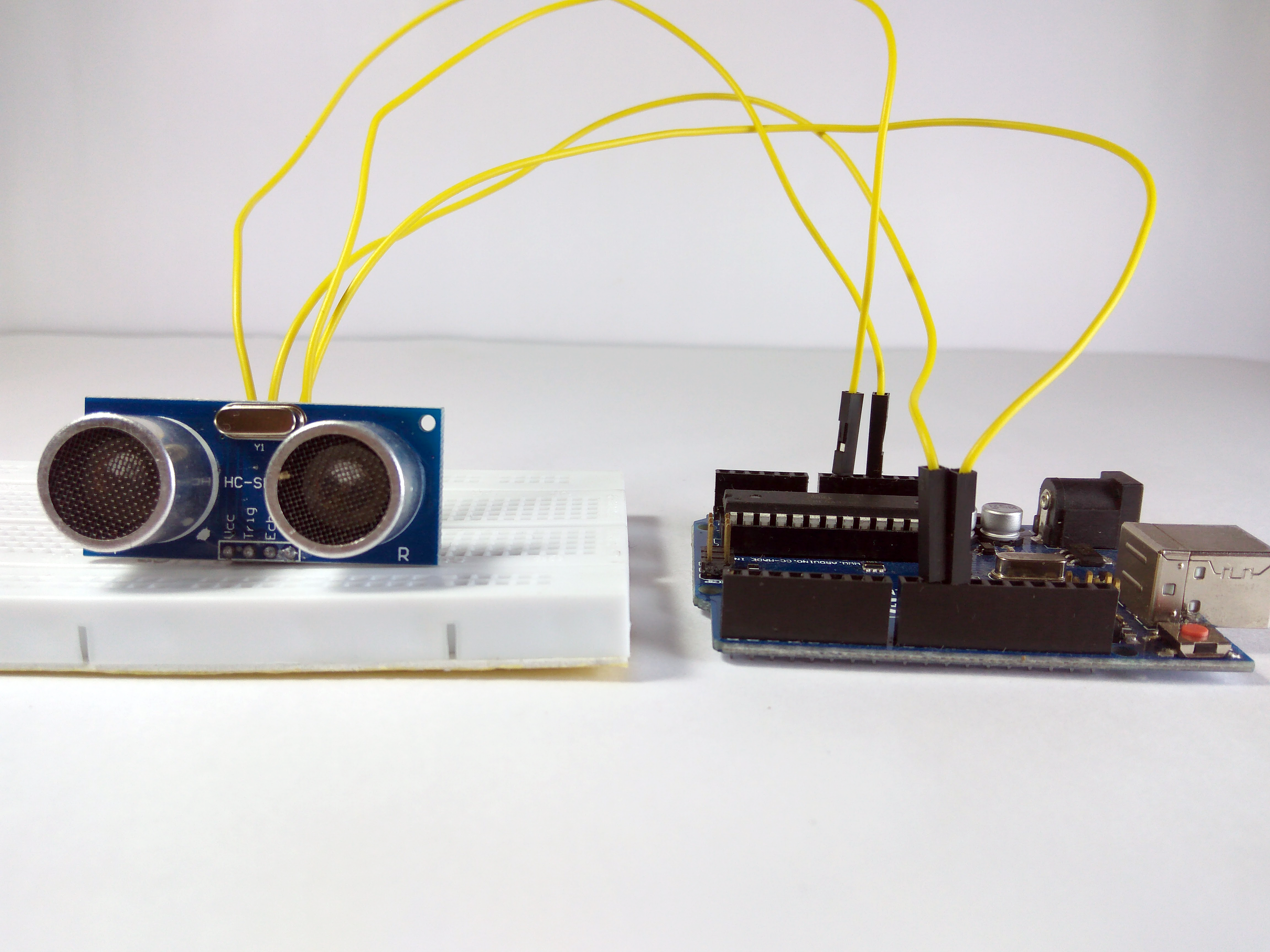 Picture of Interfacing Ultrasonic Sensor With Arduino