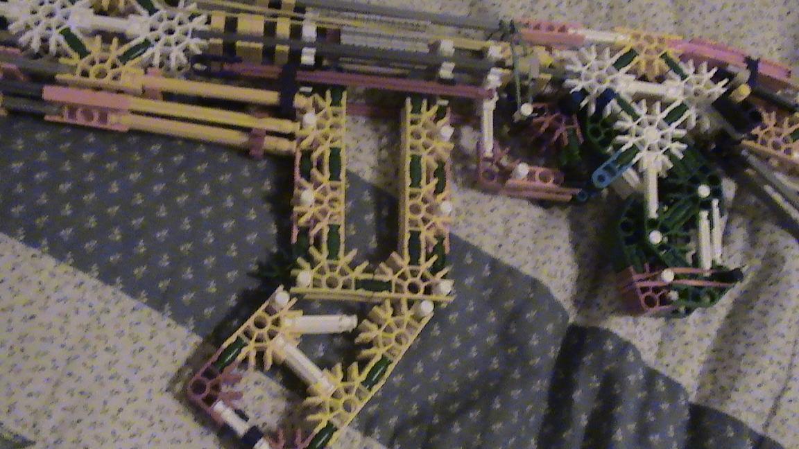 Picture of Four Knex Guns I Made
