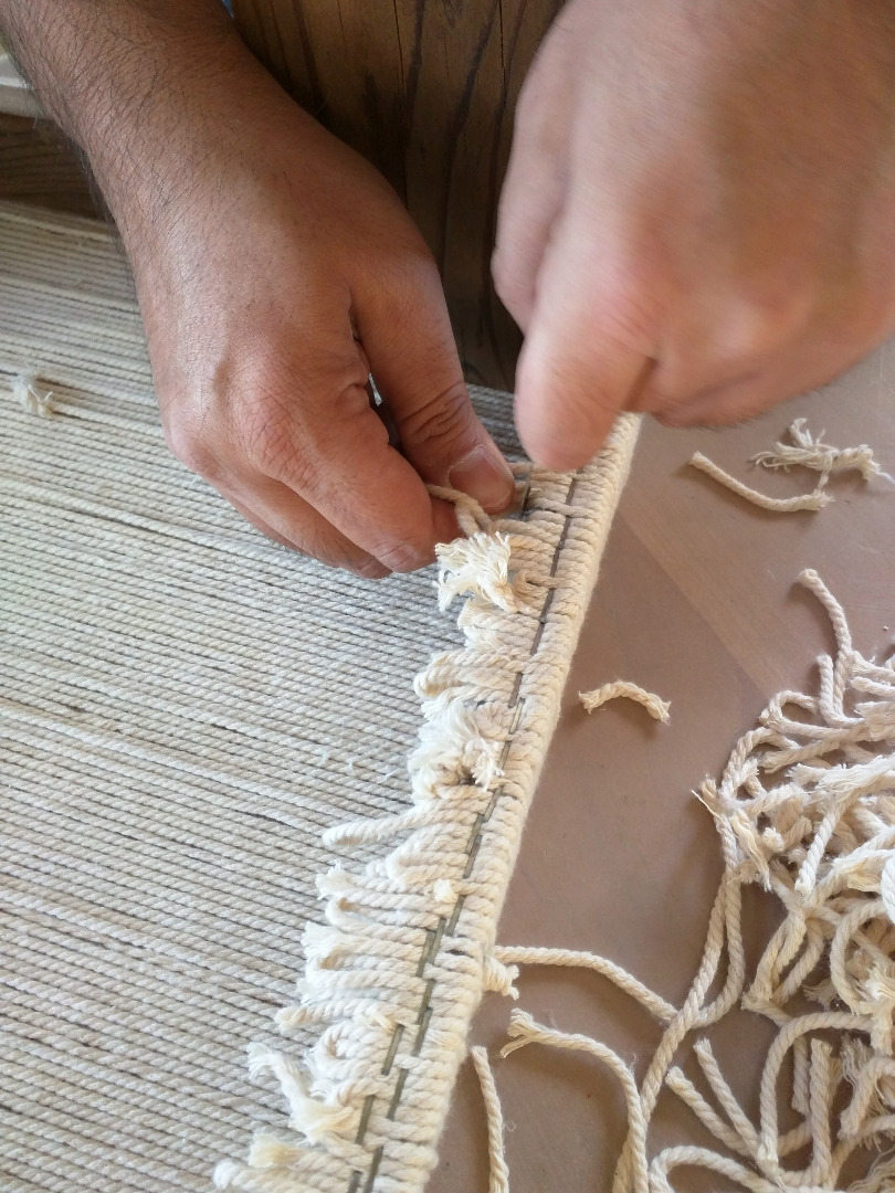 Picture of Weaving the Top - Setup