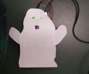 Spooky Ghost With Arduino