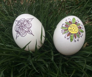 Easiest Decorative Eggs