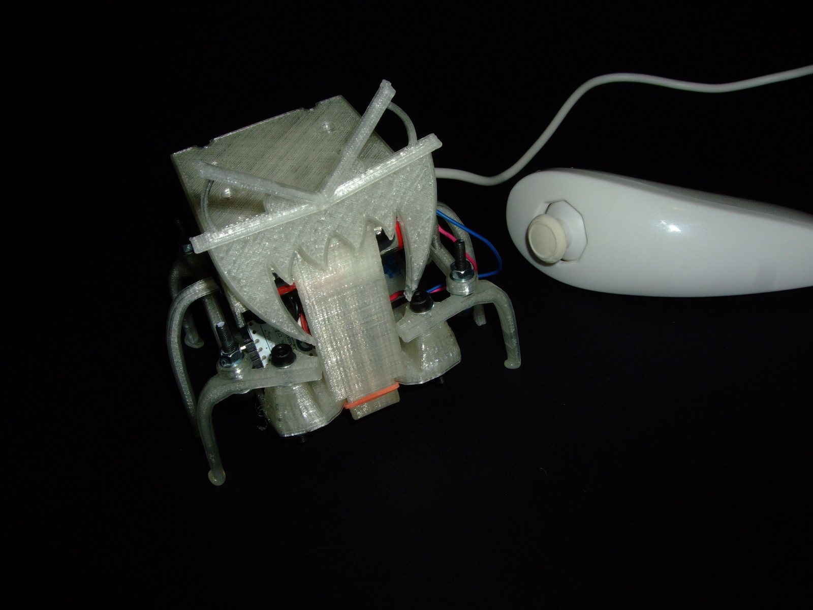 Picture of Drive Your Hexapod by Using a Nunchuk