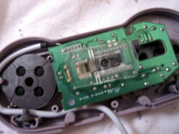 Picture of 6. Mount Mouse Into SNES Case