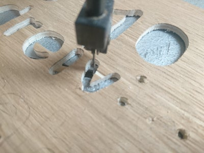 Cutting the Front Face