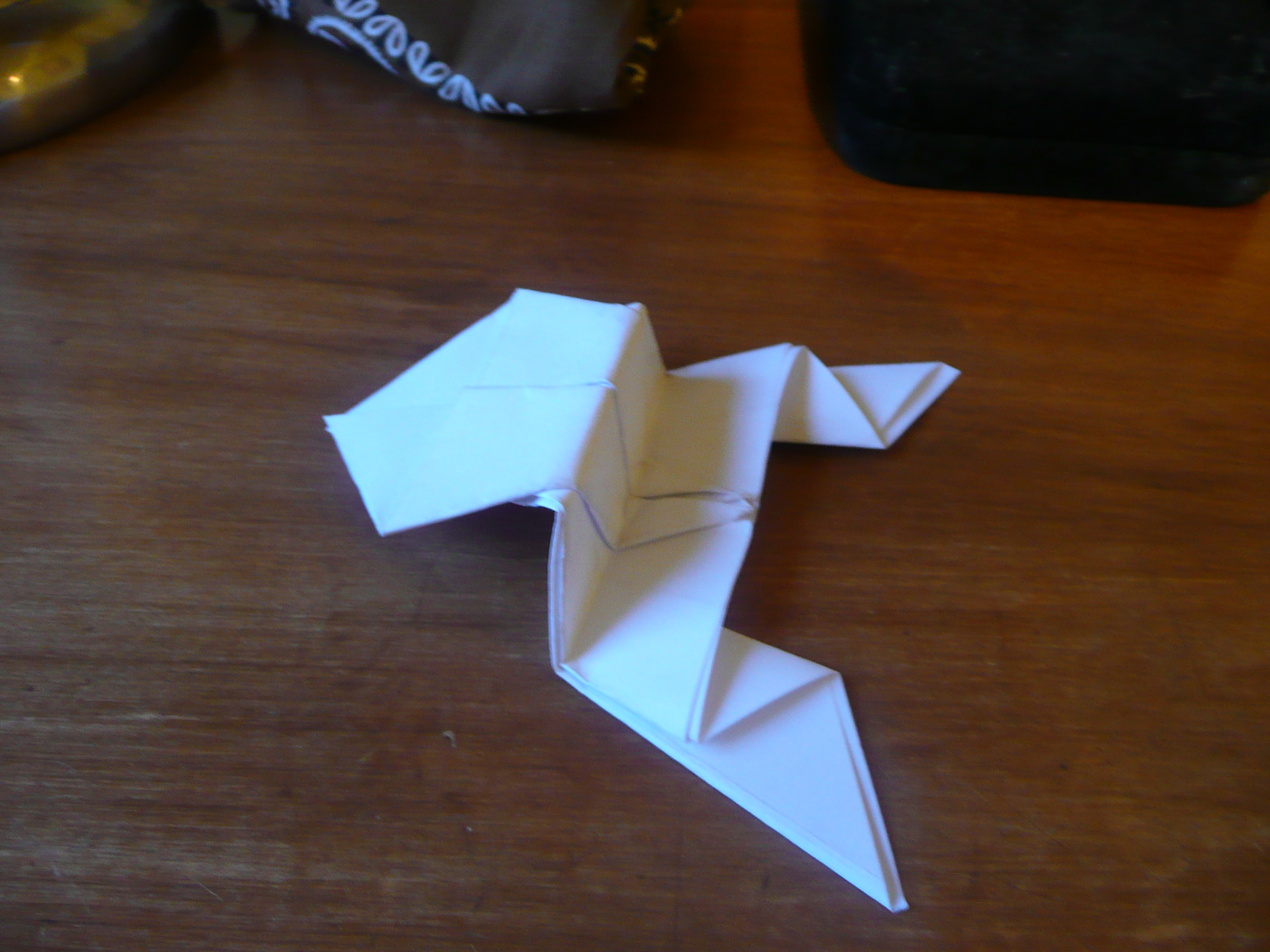 Picture of Origami Jumping Frogs