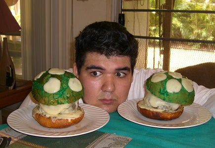 Gallery of Other People's 1UP Mushroom Burgers