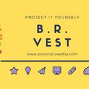 Bottle Reused Vest. | a Flower Vest of ZERO Cost. | B.R. Vest.