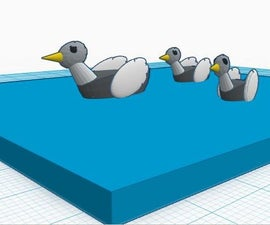 Representing Water on Tinkercad