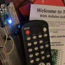 Teensy IR PC Remote Keyboard & Mouse / Youtube playlist player