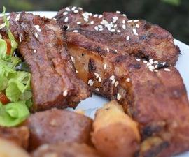 Simple and Delicious BBQ Teriyaki Ribs