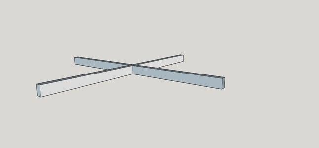 The X Brace Crosspiece