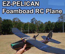 EZ-Pelican - Durable, Easy to Build and Fly Radio Control Plane