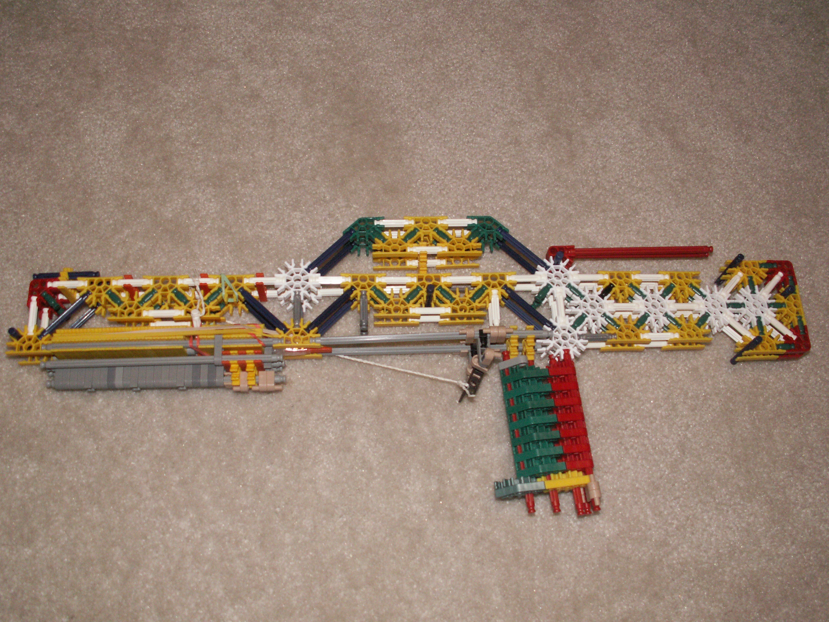 Picture of Knex M47 Full Stock Shotgun/Rifle (with Actual Pump Action!!)