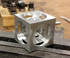 Turner's Cube - A Beginner CNC Milling Project