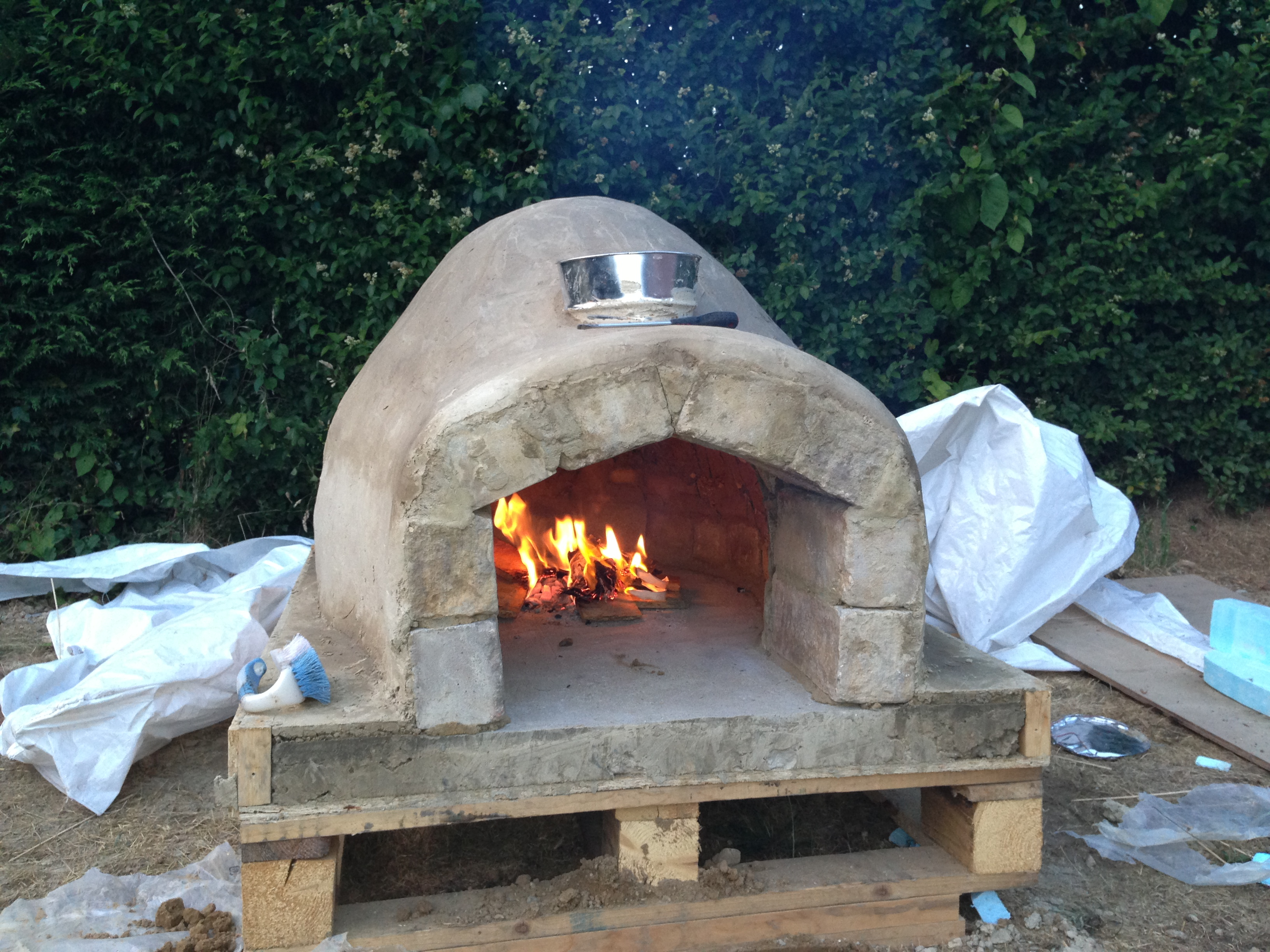How To Make A Homemade Pizza Oven 8 Steps With Pictures