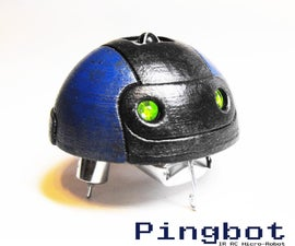 Pingbot - Micro RC Rechargable Musical Robot Pal