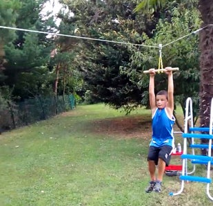 Backyard Zip Line : 11 Steps (with Pictures) - Instructables