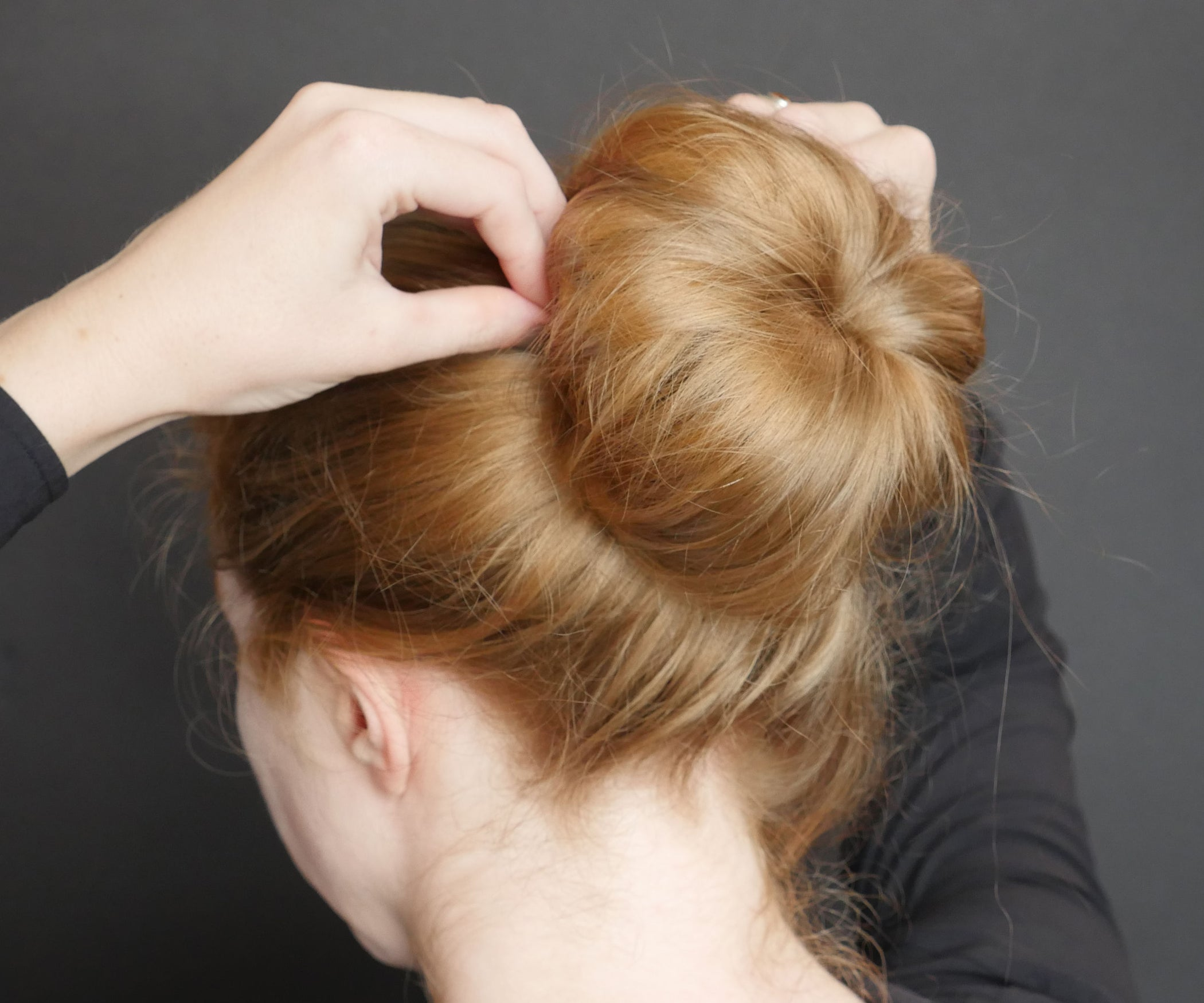 Sock Bun 4 Steps With Pictures