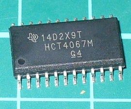 Tutorial – 74HC4067 16-Channel Analog Multiplexer Demultiplexer