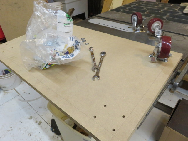 Picture of Frame and Final Assembly