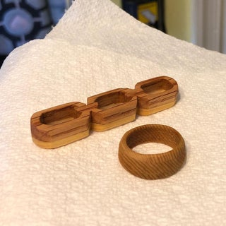 DIY: Wooden Ring