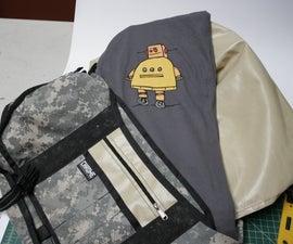 Armored messenger bag