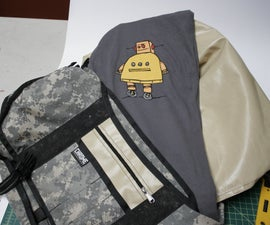 Armored messenger bag