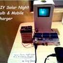 DIY Solar Bottle bulb and Mobile charger