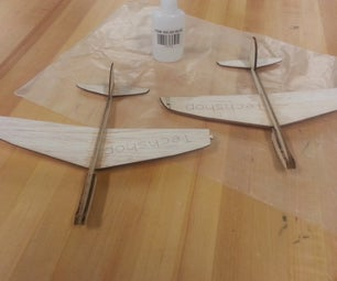 Balsawood Glider - I Made It at Techshop, Chandler