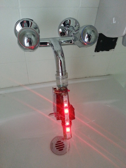 Picture of Using the Augmented Water Device