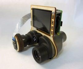 PiNoculars - Raspberry Pi Binoculars