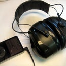 Hearing Protection Headphone Conversion for iPod