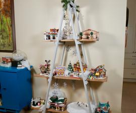 How to Make a A-Frame Christmas Tree