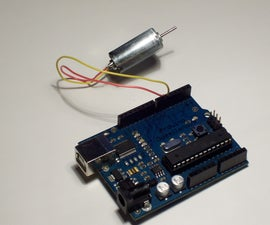 Simple 2-way motor control for the arduino