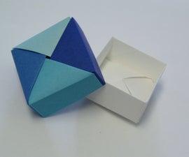 Origami Square Gift Box