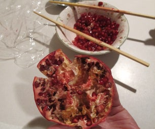 How to De-seed a Pomegranate (in Two Minutes!)