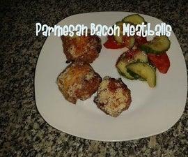 Parmesan Bacon Meatballs Recipe