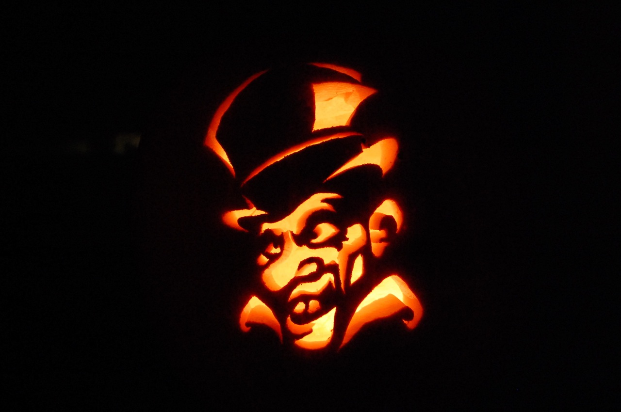Picture of Jeff-o's 2008 Pumpkins